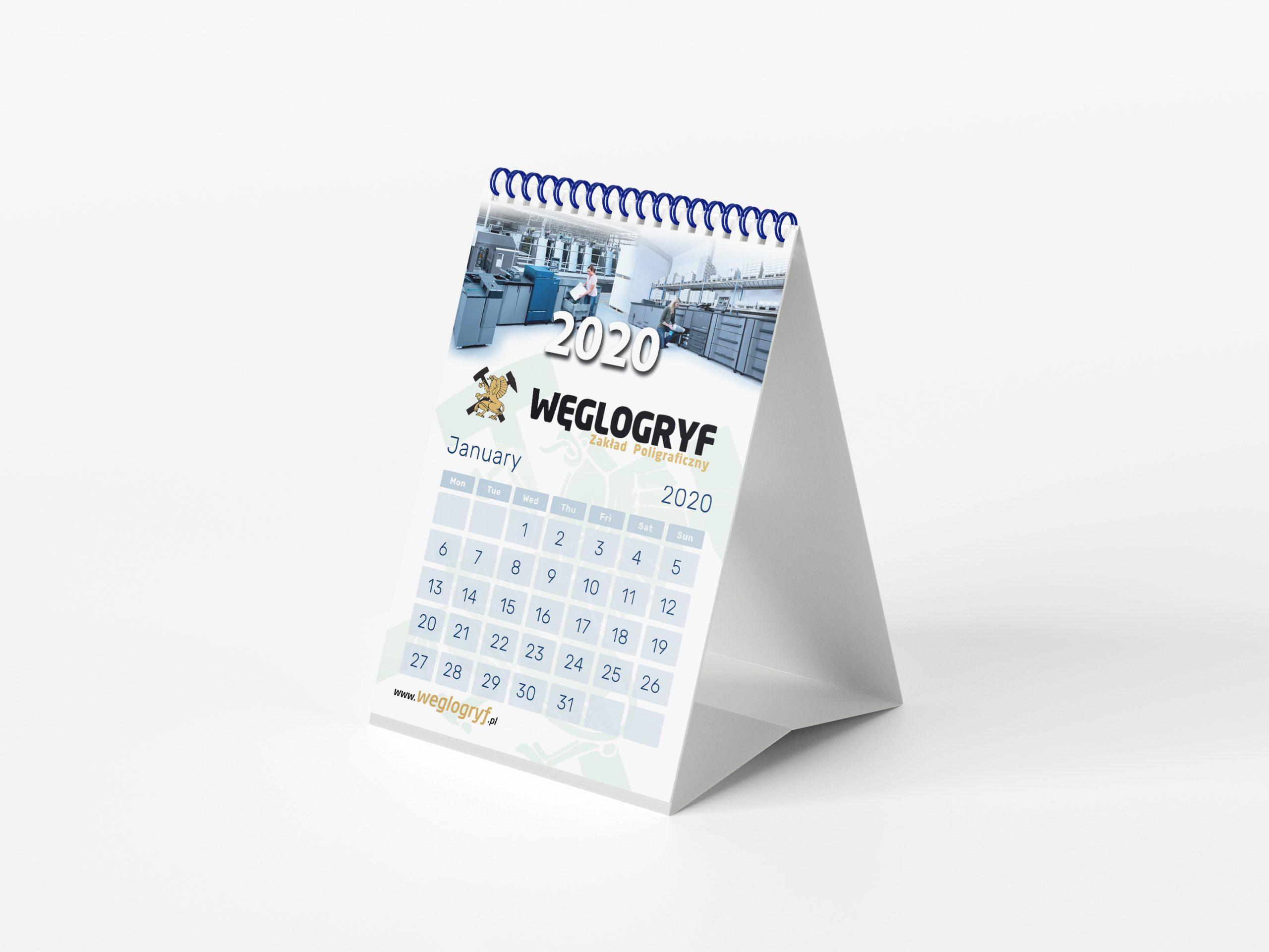 drukowanie kalendarzy